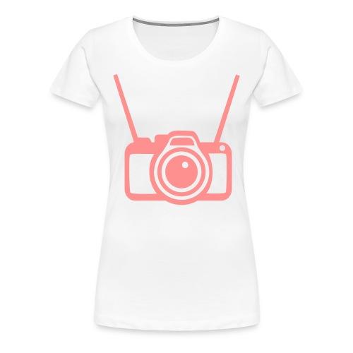 where is my camera at. - Women's Premium T-Shirt