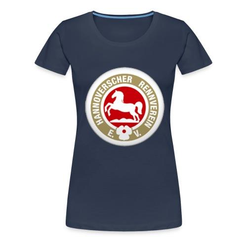 Da. Girlieshirt HRV Logo Brust - Frauen Premium T-Shirt
