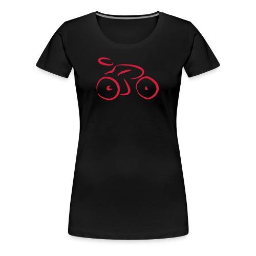 bike it up - Women's Premium T-Shirt