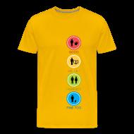 T-skjorter ~ Premium T-skjorte for menn ~ Good, Better, Perfect, Fine too