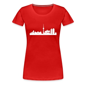 Berlin Skyline - T Shirt - Frauen Premium T-Shirt