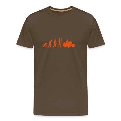 evolution_motorbike - Männer Premium T-Shirt