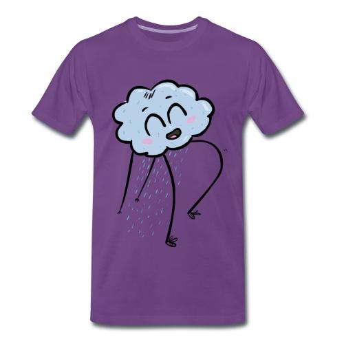 goodas cloud happy - T-shirt Premium Homme