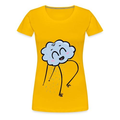 goodas cloud happy - T-shirt Premium Femme