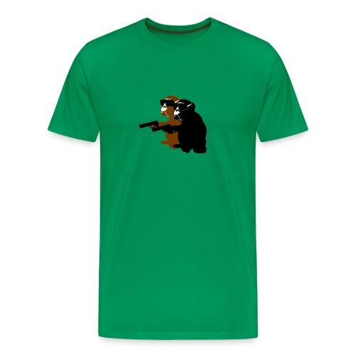 THE MONKEY BRO - Männer Premium T-Shirt