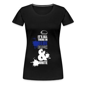 Women's It's All There Larger T-Shirt - Women's Premium T-Shirt