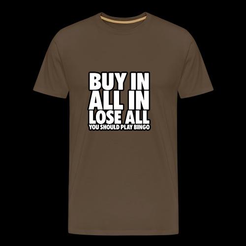 Poker - All In - Männer Premium T-Shirt
