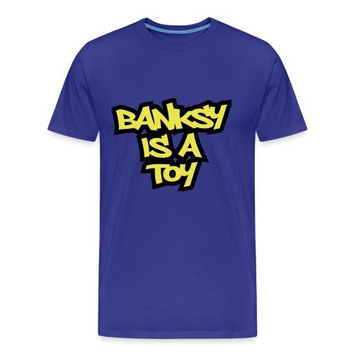Toy Banksy - Men's Premium T-Shirt