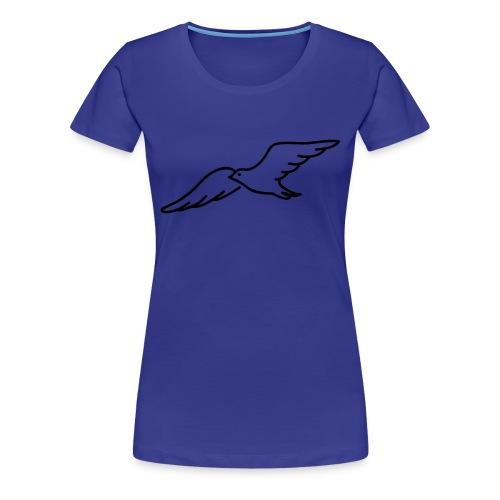 Möwe TShirt Damen Rundhals - Frauen Premium T-Shirt