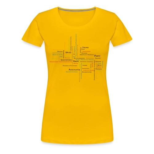 Medizin Studium - Frauen Premium T-Shirt