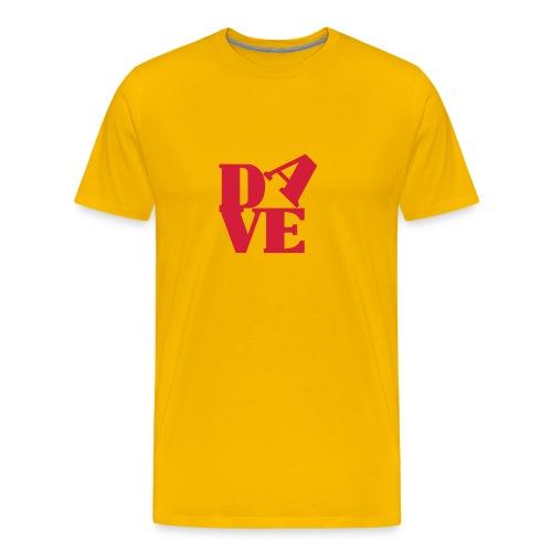 Love Dave - Männer Premium T-Shirt
