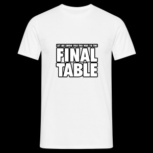Poker Final Table - Camiseta hombre