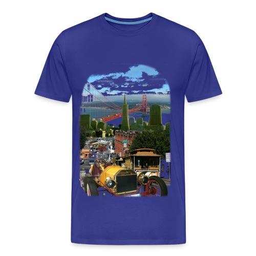 oldie in san francisco - Männer Premium T-Shirt