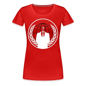 Anonymous Shirt - Frauen Premium T-Shirt