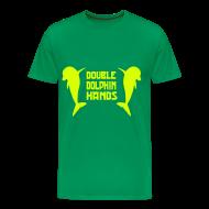 T-Shirts ~ Men's Premium T-Shirt ~ Double Dolphin Hands!