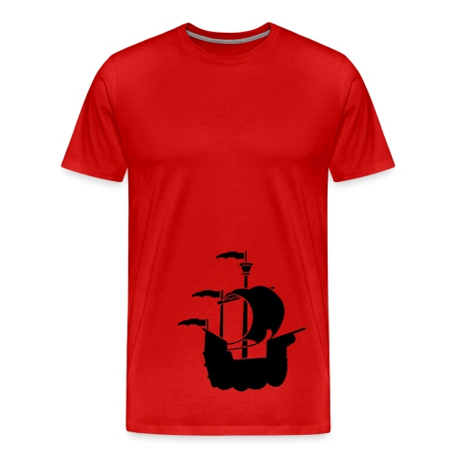 D.DONOVAN -  ''Red Pirate Edition'' - T-shirt Premium Homme