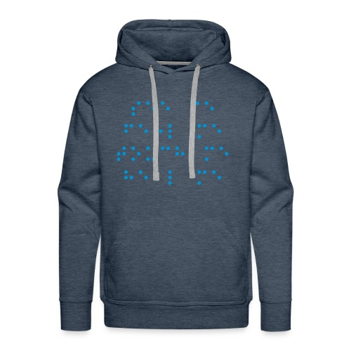 ... Feel me, Touch me ... - Mannen Premium hoodie