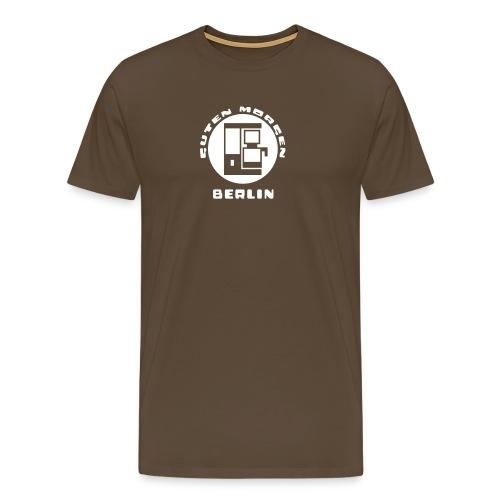 Berlin Guten Morgen Kaffee T-Shirt - Männer Premium T-Shirt