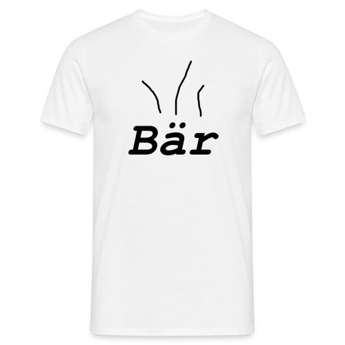3 Haare auf der Brust - Männer T-Shirt