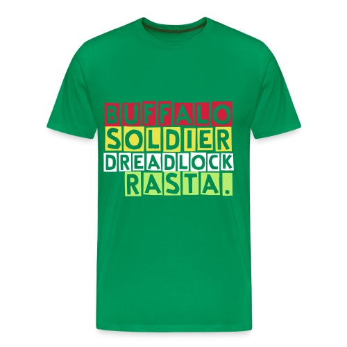 Buffalo soldier T-Shirt in moss green - Men's Premium T-Shirt