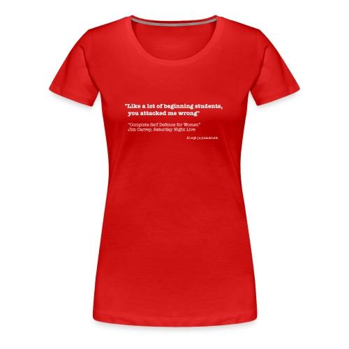 Lägertröja 2006 dam - Premium-T-shirt dam