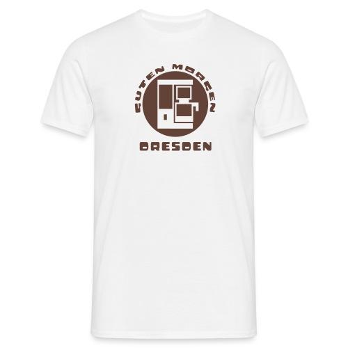 Dresden Guten Morgen Kaffee T-Shirt - Männer T-Shirt