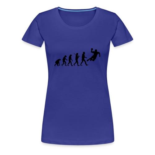 Frauen T-shirt Evolution - Frauen Premium T-Shirt