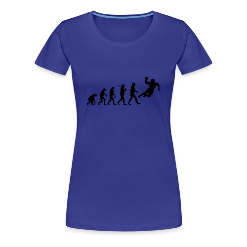 Frauen T-shirt Evolution - Frauen Premium T-Shirt