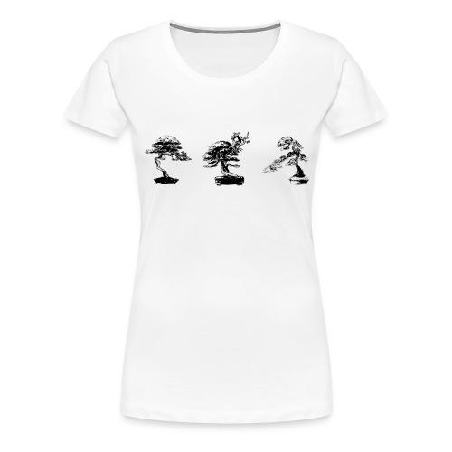 3 bonsaaï - T-shirt Premium Femme