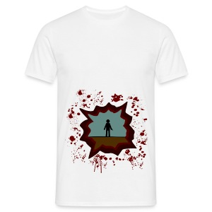 The Walking Dead - shoot - Camiseta hombre
