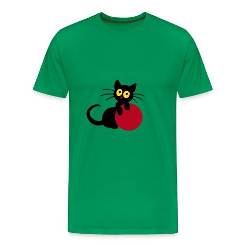 Georgie mit Ball, Herrenshirt - Männer Premium T-Shirt