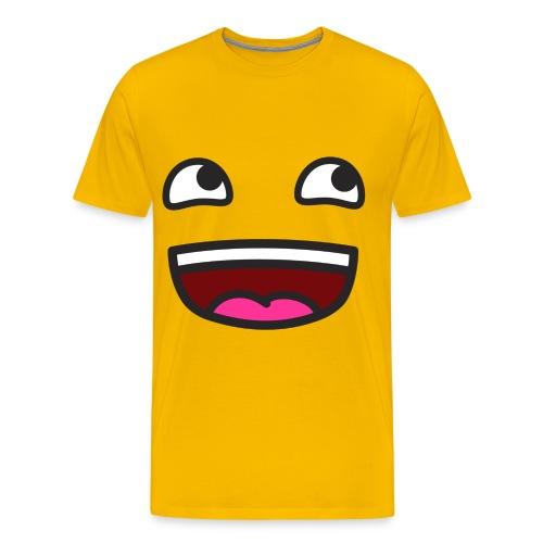 YAY!!! - Premium-T-shirt herr