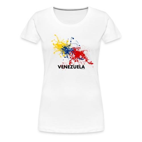 Flag Venezuela - Maglietta Premium da donna
