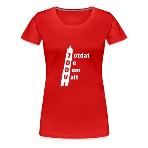 TDDV Women's Girlie Shirt - Vrouwen Premium T-shirt