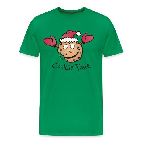 Weihnachts Keks Shirt - Männer Premium T-Shirt