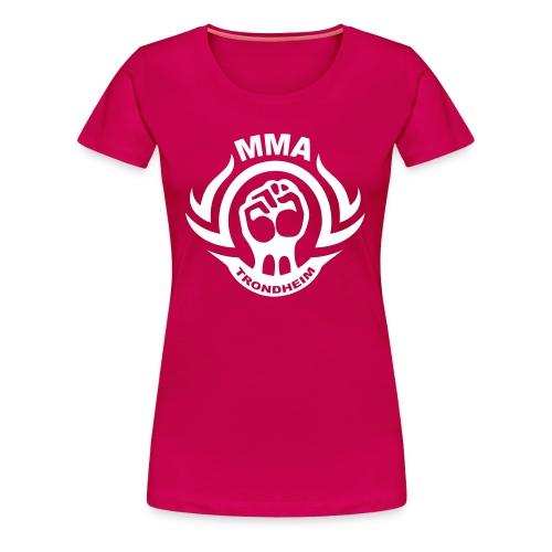 MMA Trondheim - T-skjorte (Jente) - Premium T-skjorte for kvinner