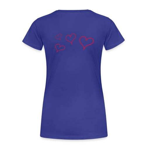 Für die Frauen der Familie - Frauen Premium T-Shirt