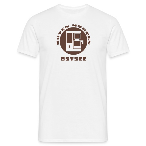 Ostsee Guten Morgen Kaffee T-Shirt - Männer T-Shirt