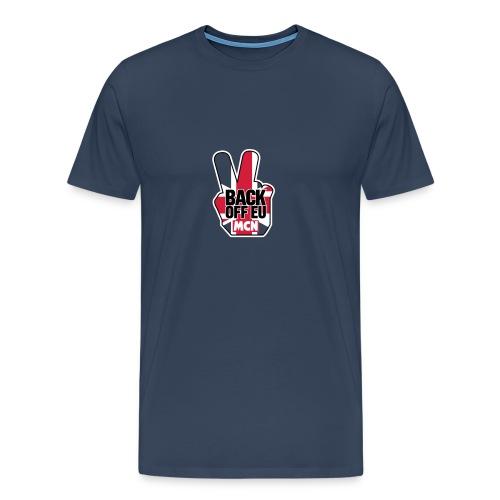 back_off_eu_t_new_2 - Men's Premium T-Shirt