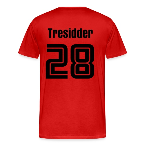 Custom T shist Football Tresidder - Men's Premium T-Shirt