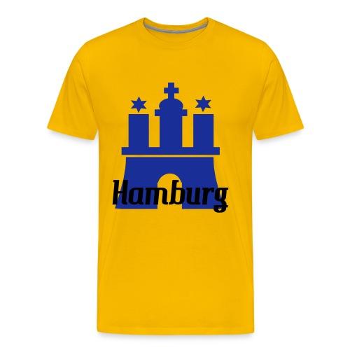 Hamburg! - Männer Premium T-Shirt