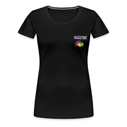 Frauen große Größen Rainbow Tanzart - Frauen Premium T-Shirt