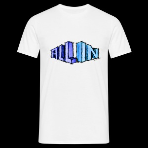 All In scribble - Camiseta hombre
