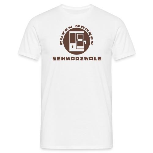 Schwarzwald Guten Morgen Kaffee T-Shirt - Männer T-Shirt