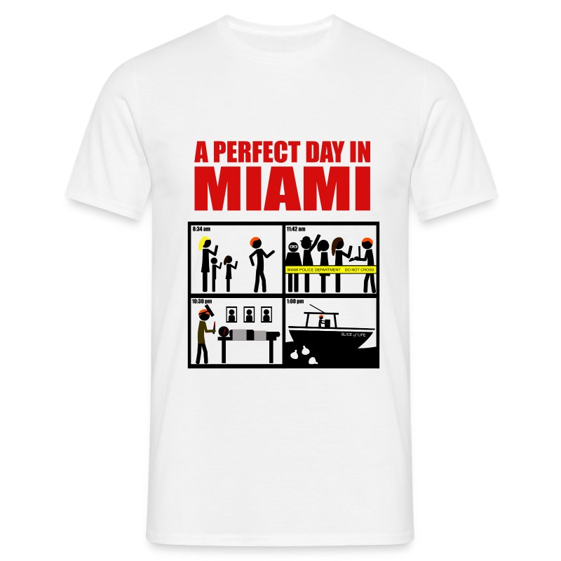 Dexter - a perfect day in Miami - Camiseta hombre