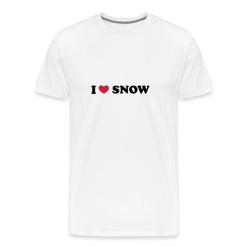 Premium T-skjorte for menn