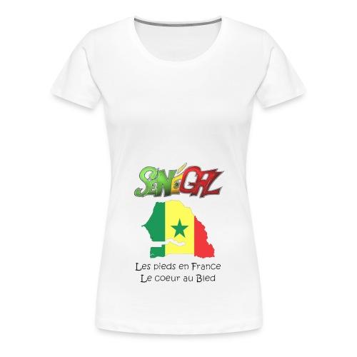 fier d'etre galsen - T-shirt Premium Femme