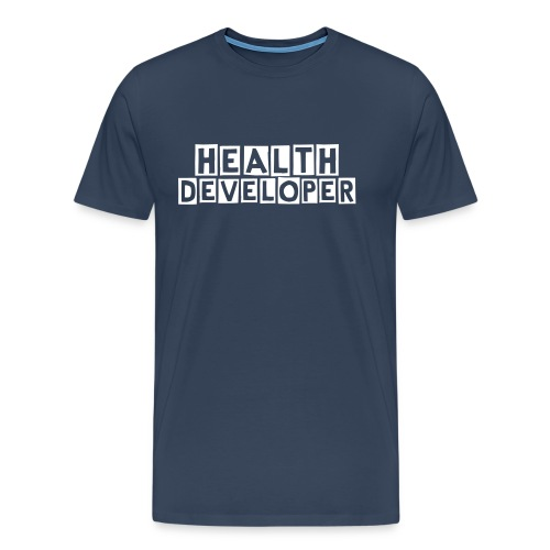 Health developer men - Premium-T-shirt herr