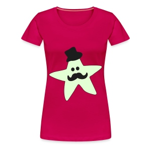 Monsieur Mousti - Frauen Premium T-Shirt