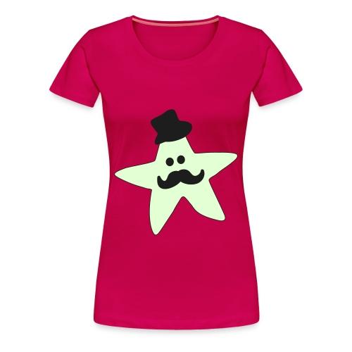 Monsieur Mousti - Frauen Premium T-Shirt